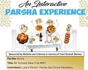 Interactive Parsha Experience: Va'Era, Do Humans Have Free Will?